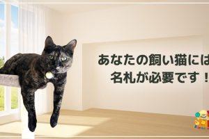 あなたの飼い猫には名札が必要です!